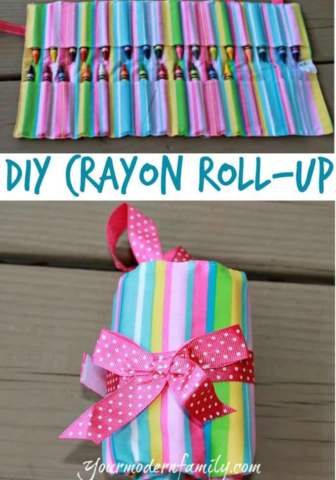 diy crayon roll up