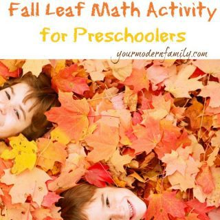 """Fall"" into math:  Leaf counting activity for preschoolers"