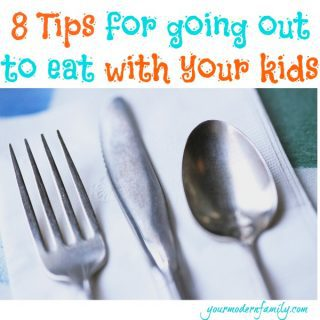 Practical Tips for going out to eat with young kids (because going out for buffalo wings should be fun!)