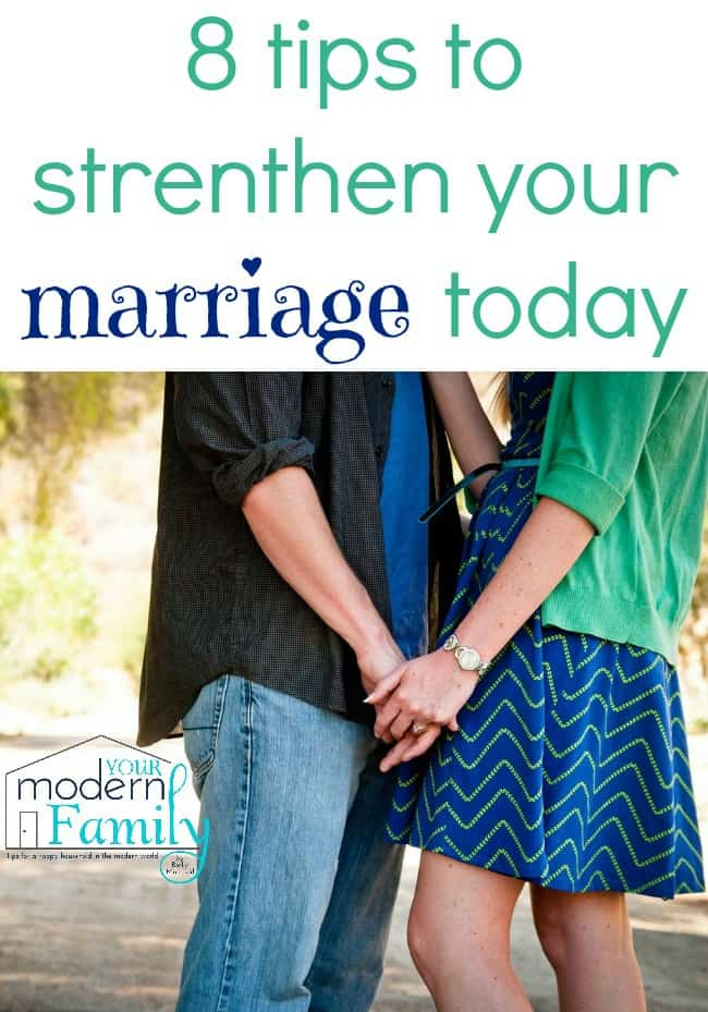 8 tips to strengthen your marriage today