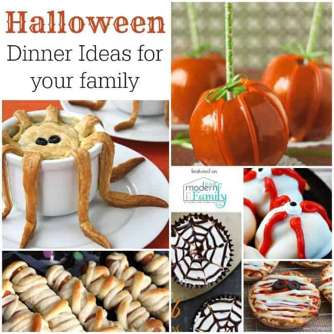 halloween dinner ideas for kids - Halloween Dinner Kids