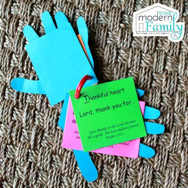 Prayer Hands T is for Thankful Heart