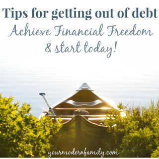 Tips for getting out of debt – starting today