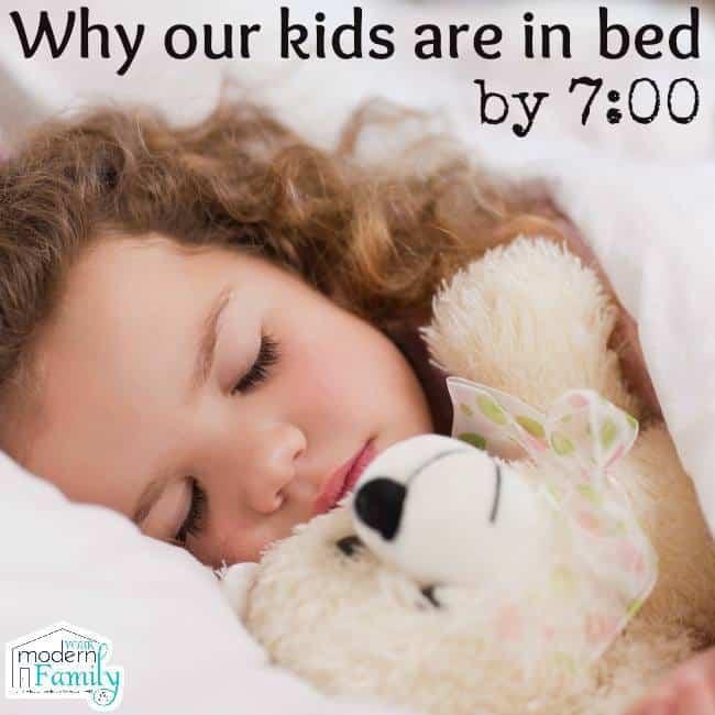 bed at 7