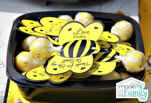 Bee Day Party 6 Birthday Theme