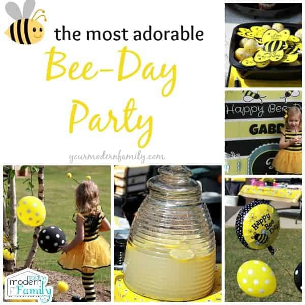 Bee Day Party Ideas