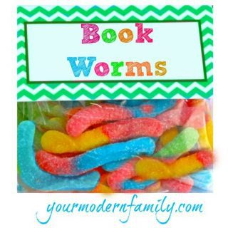 My little 'Book Worms' plan a family sleepover party {chocolate cookie recipe included!}