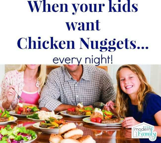 Nuggets Healthy Eats: When Your Kids Only Want To Eat Chicken Nuggets And Mac