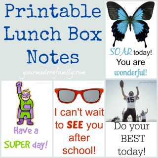 free printable notes for lunch boxes (& natural lunchbox ideas!)