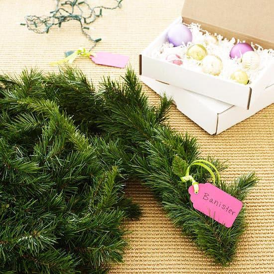 label decorations