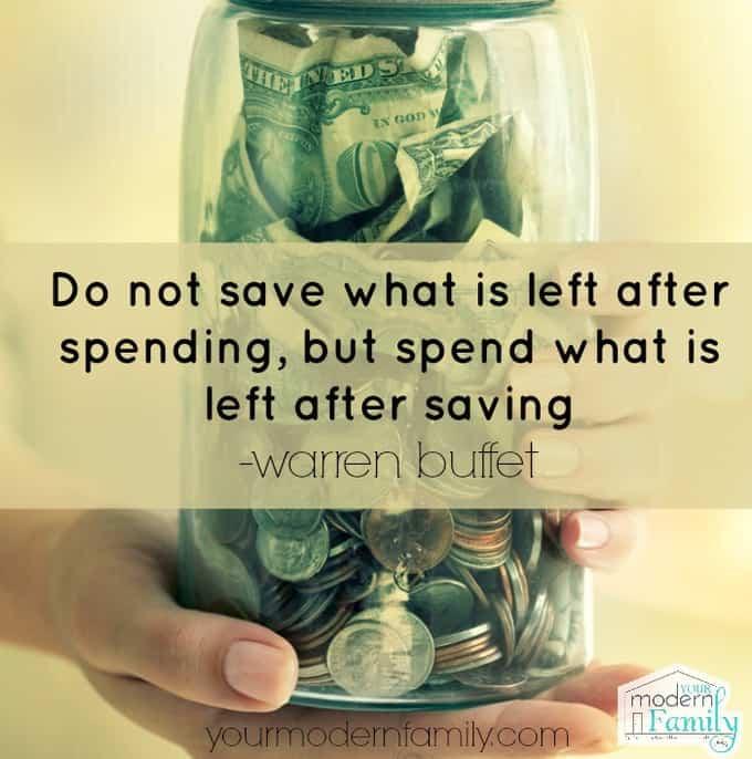 do not spend..