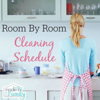 Room-by-Room Cleaning Schedule