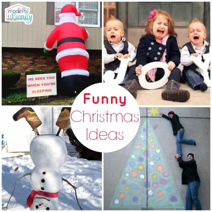 10 FUNNY Christmas ideas you'll love! - Your Modern Family