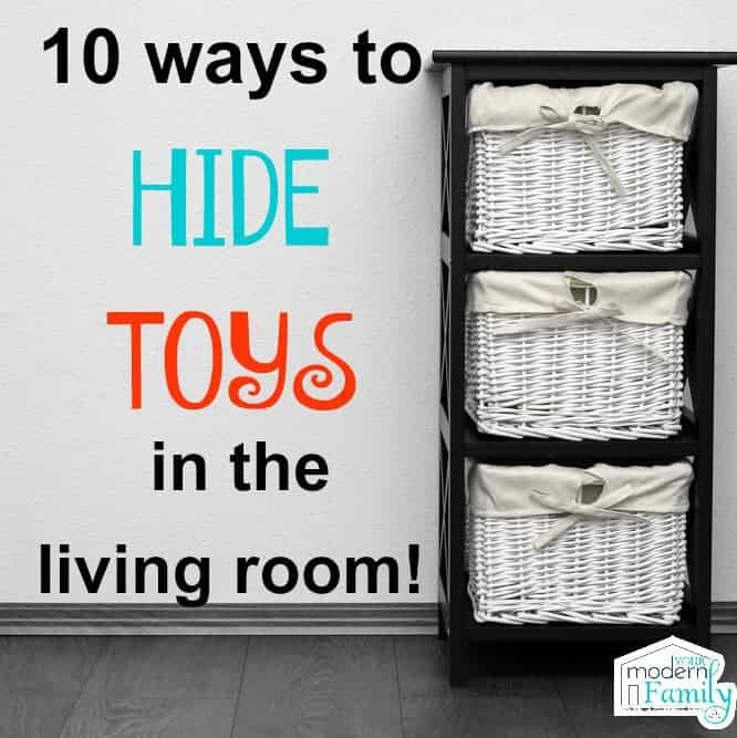 Hide Toys In The Living Room