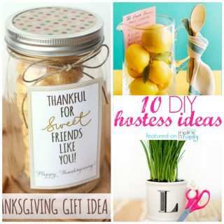 Last minute gifts for your hostess