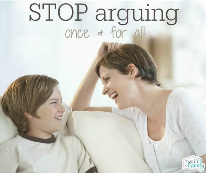 how to stop your kids from arguing