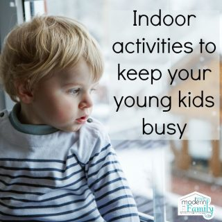 12 activities to keep the kids busy in the winter time!