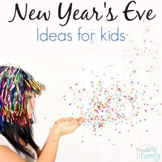 11 New Year's Eve Ideas for kids!