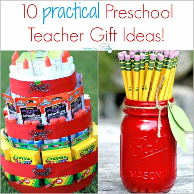 practical preschool teacher gift ideas