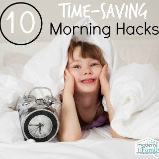 time saving morning hacks