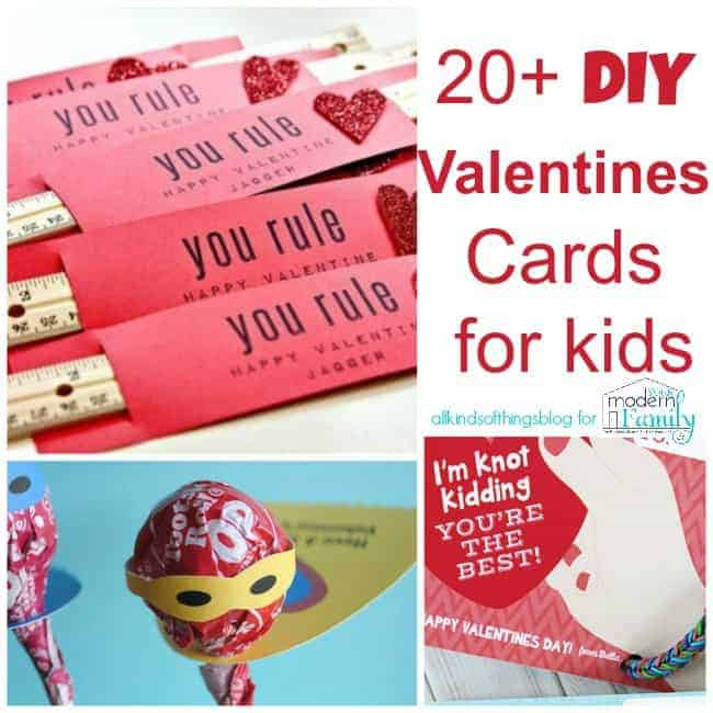 Valentine 39 s day card ideas for kids for Designs for valentine cards