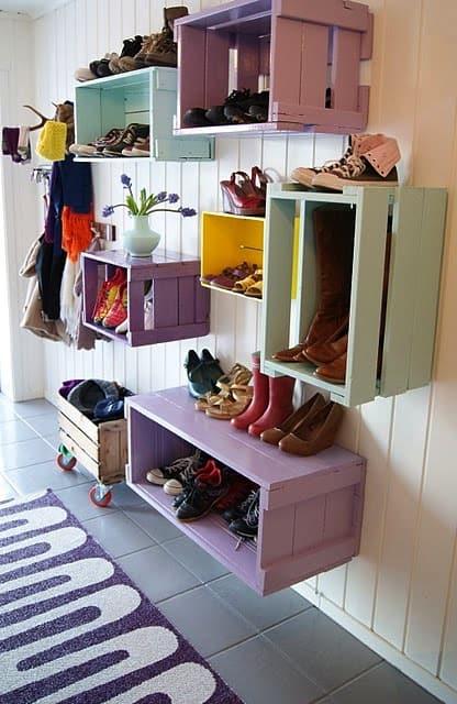 Wall-storage-bins