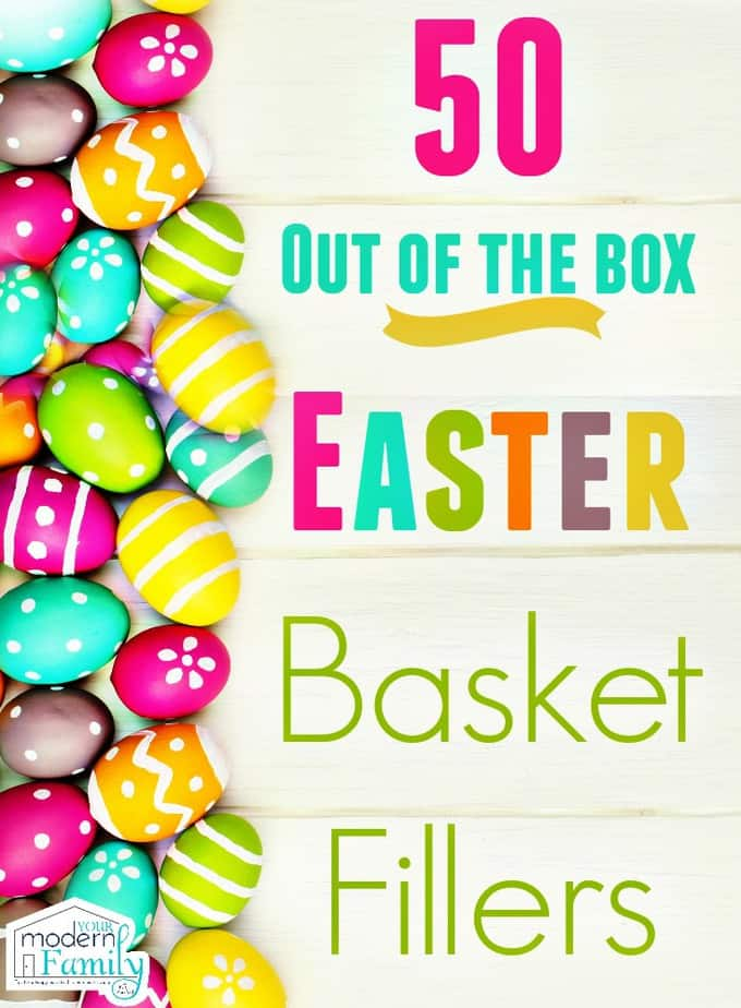 Unique Easter Basket Stuffers That Your Kids Will LOVE