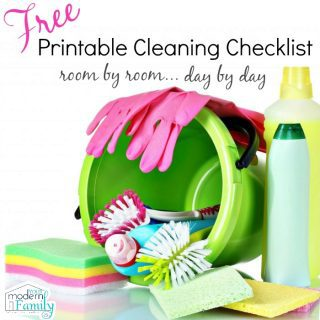 Room by Room DETAILED cleaning guide