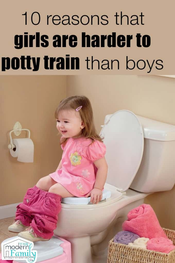 the 10 reasons girls are harder to potty train than boys