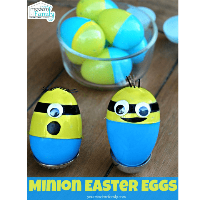 Unique easter basket stuffers that your kids will love minion easter eggs negle Gallery