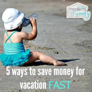 5 ways to save money for vacation FAST