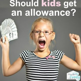 Should I give my kids an allowance?