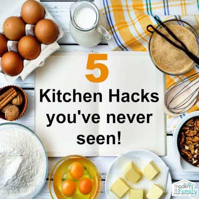 5 kitchen hacks