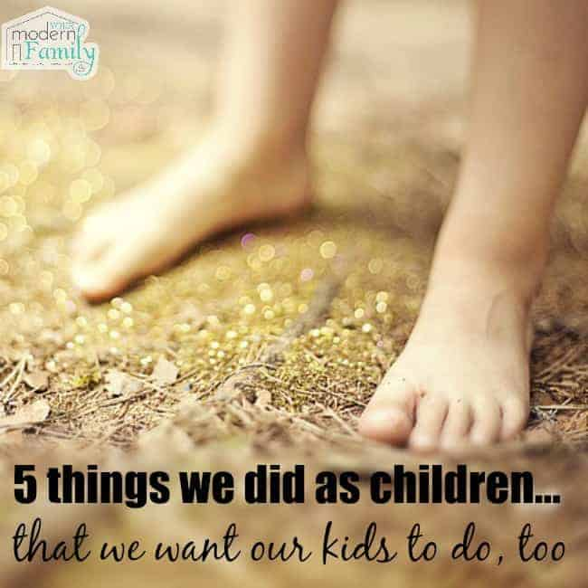 did as children