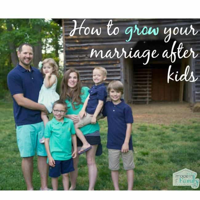 grow your marriage after kids