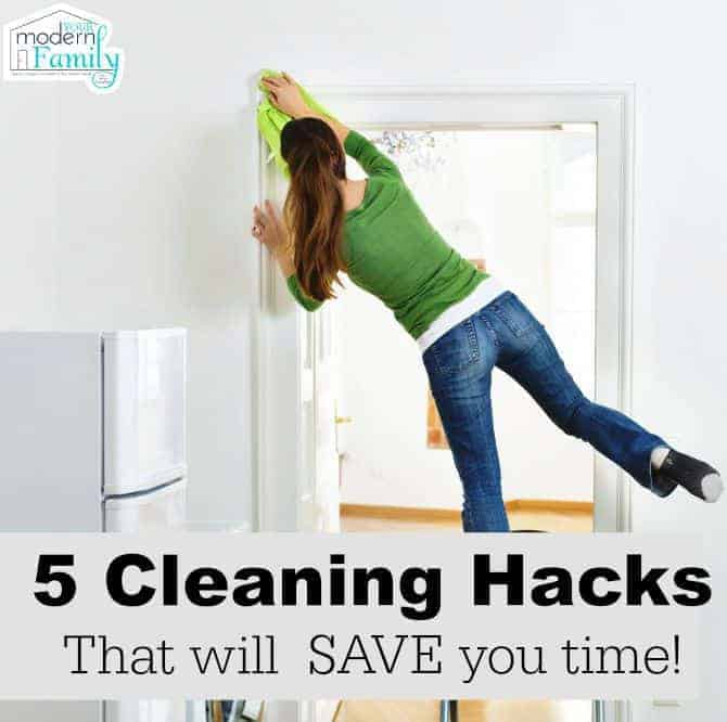 5 cleaning hacks that will save time