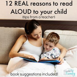 12 reasons to read aloud to your kids NOW  (tips from a teacher)