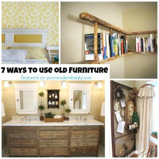 7 new uses for old furniture