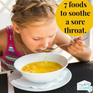 7 foods to soothe a sore throat