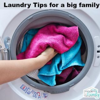 Laundry tips for a busy family (with kids)