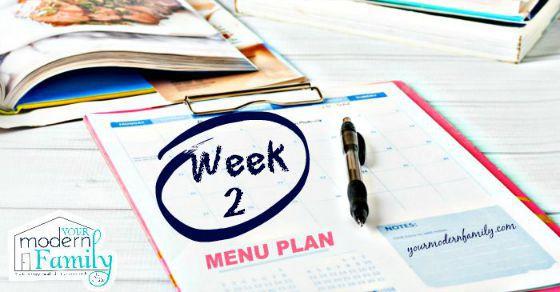 week 2 menu fb