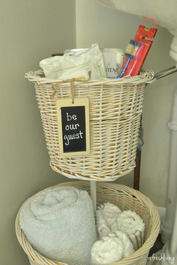 favorite organizing ideas for whimsy wednesday your modern family upcycled baskets diy bathroom organizer