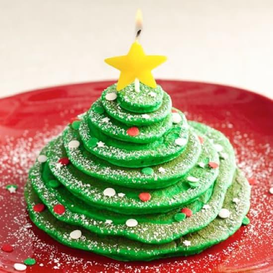 Christmas Pankcake Ideas For Kids