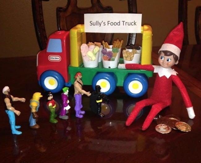 food truck elf