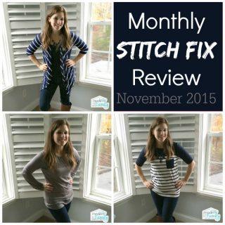 Stitch Fix Review {November 2015}