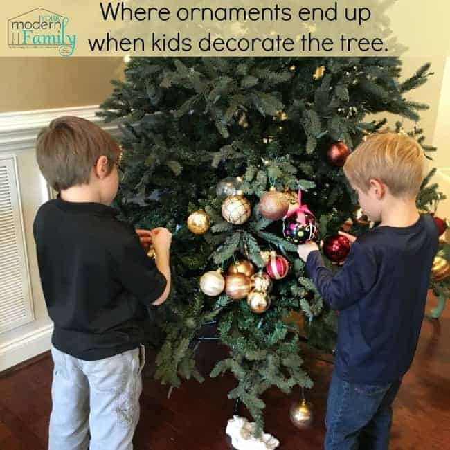Why We Have Two Christmas Trees Your Modern Family