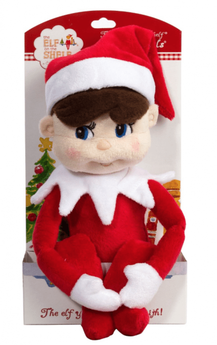 plush elf on the shelf (boy)