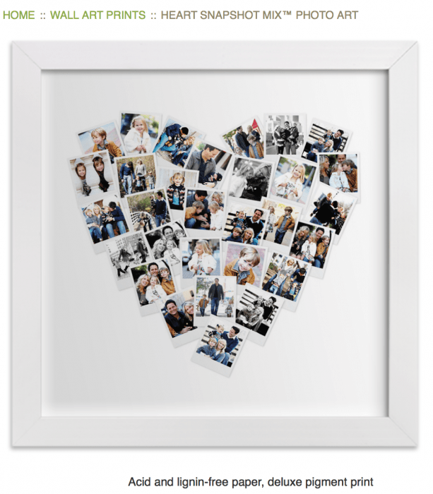 10 best personalized gift ideas yourmodernfamily heart print negle Gallery