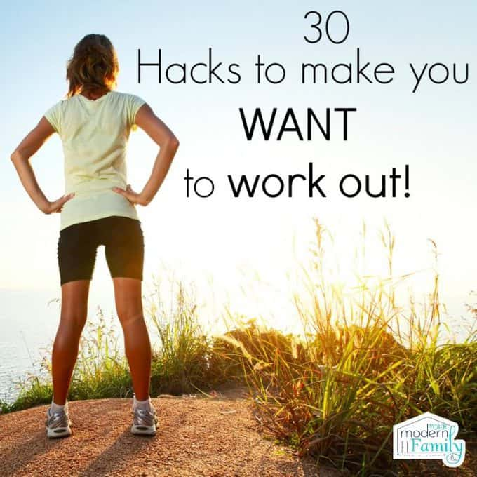 hacks to make you want to work out
