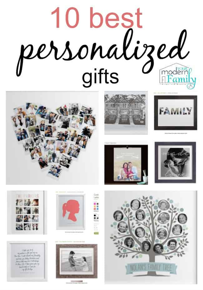 10 best personalized gift ideas